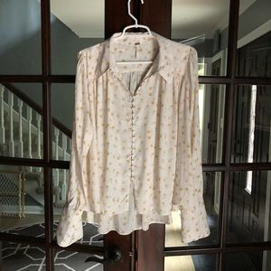 Free people blouse medium